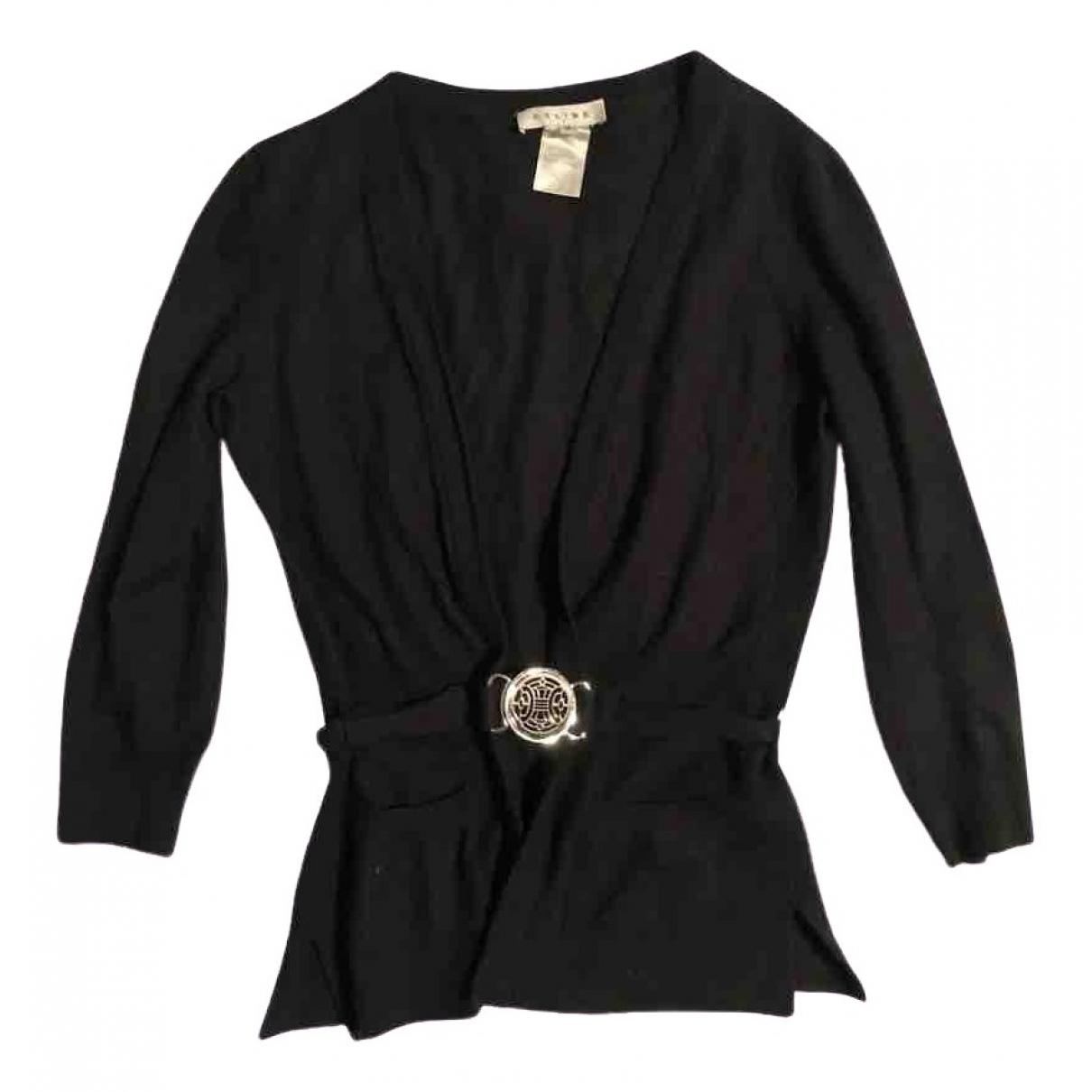 Celine - Pull   pour femme en cachemire - noir