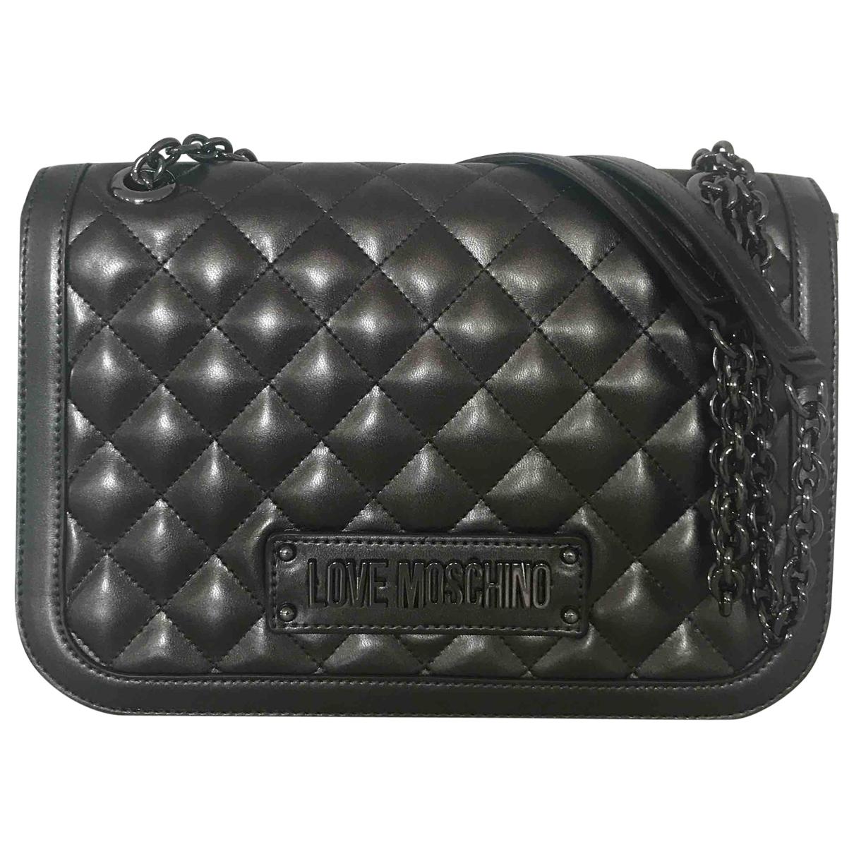 Moschino \N Grey handbag for Women \N