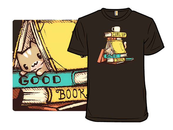 Curl Up In A Good Book T Shirt