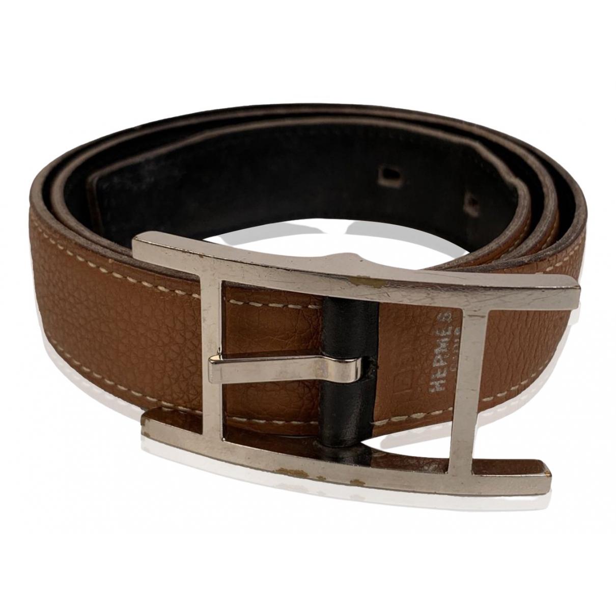 Cinturon Belt de Cuero Hermes