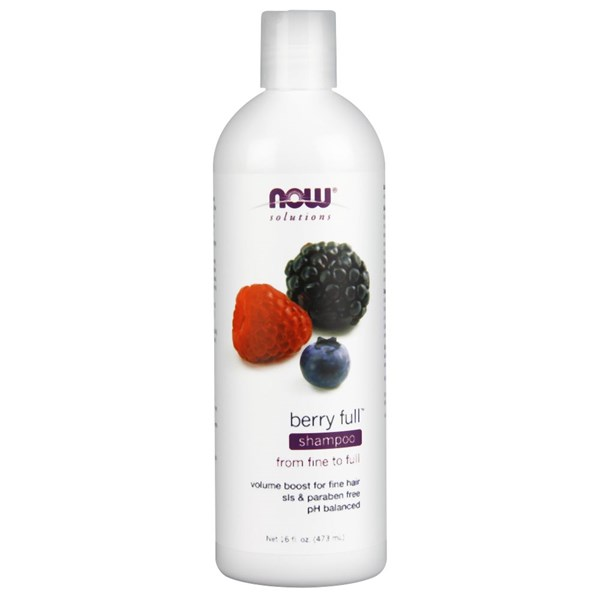 Natural Berry Full Shampoo 16 oz by Now Foods