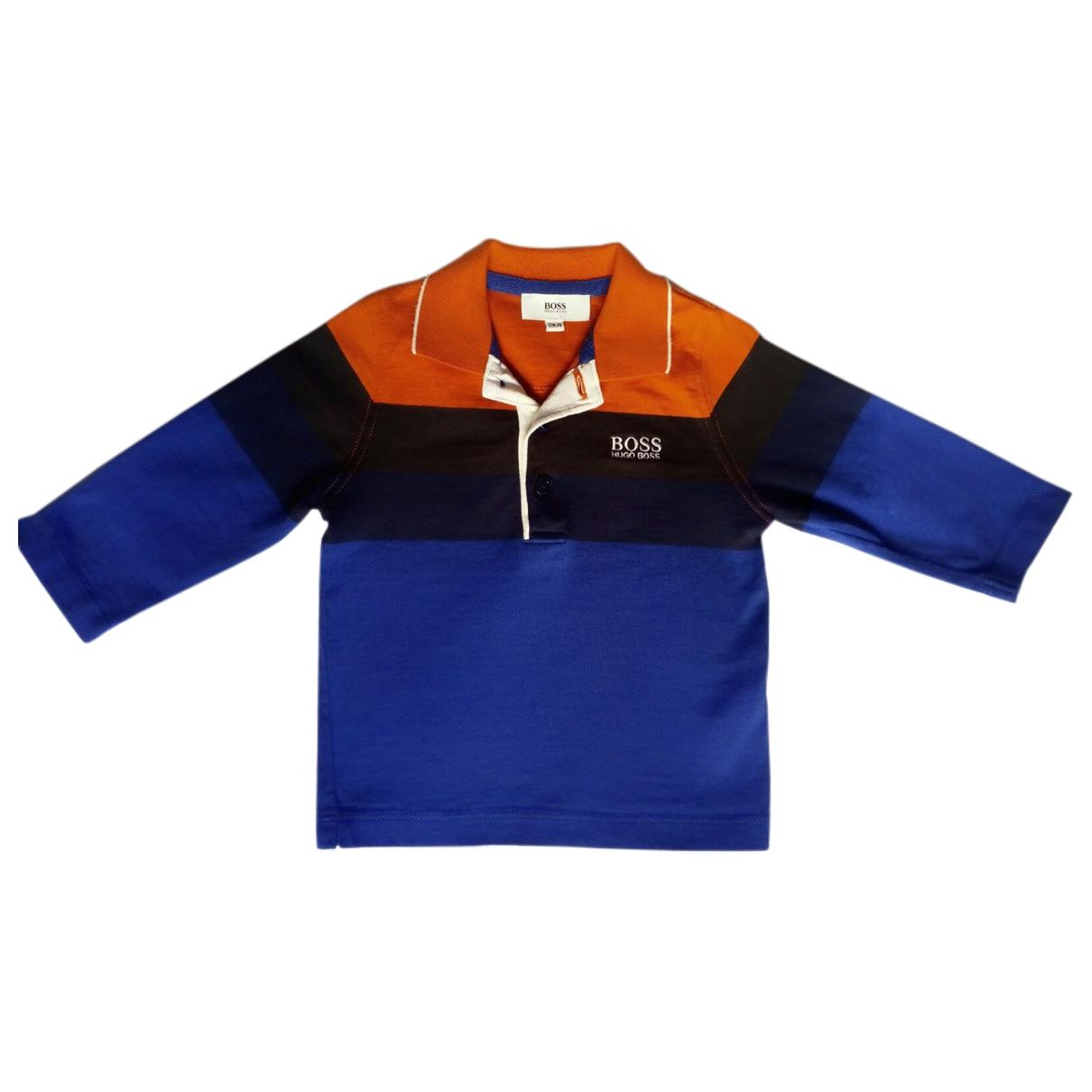 Boss - Top   pour enfant en coton - multicolore