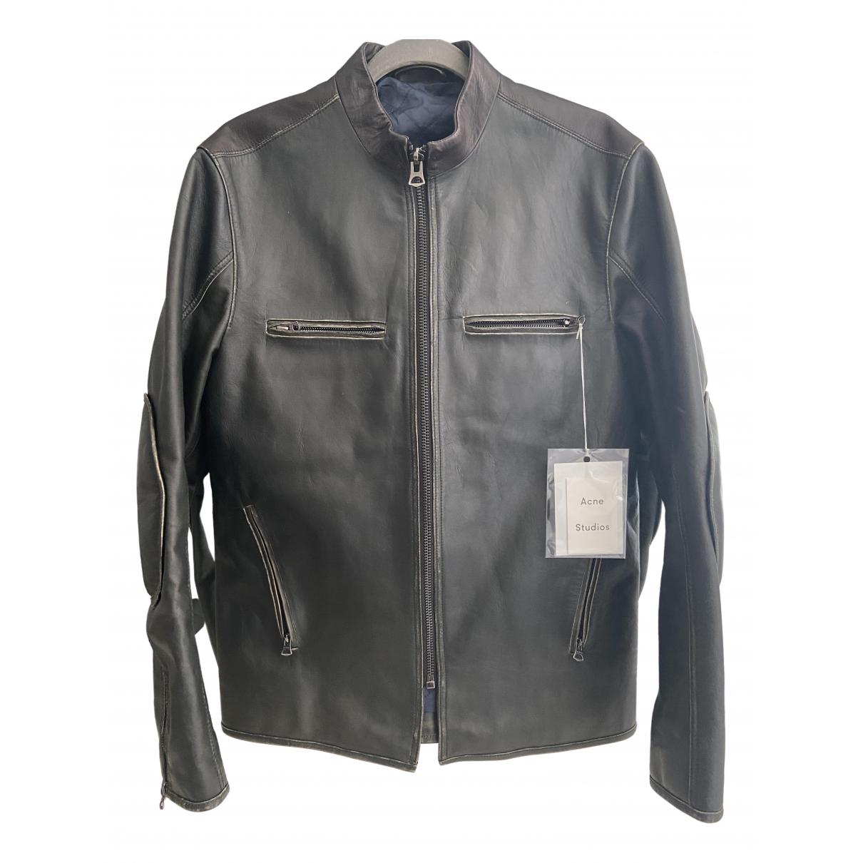 Acne Studios \N Green Leather jacket  for Men M International