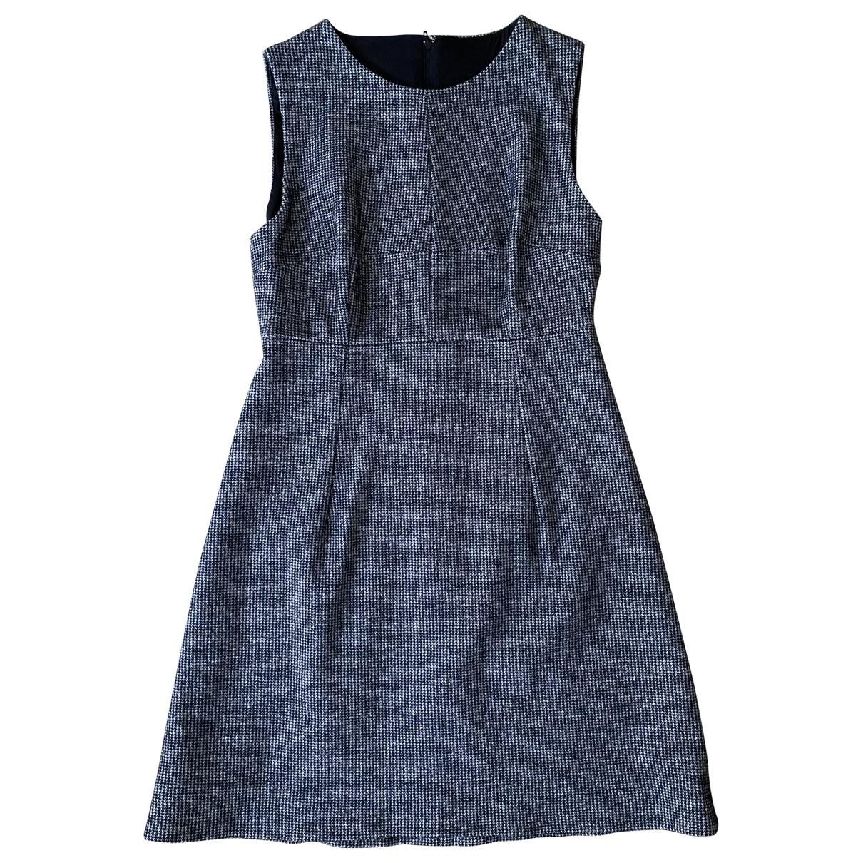 Dolce & Gabbana \N Kleid in  Grau Wolle