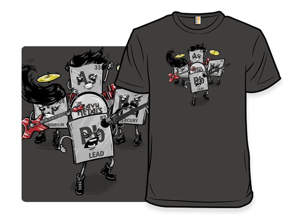 Heavy Metal Band T Shirt
