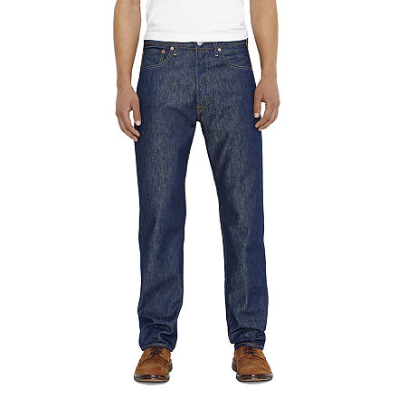 Levi's 501 Shrink-To-Fit Jeans-Big & Tall, 46 29, Blue