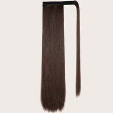 Straight Long Hairpiece With Velcro
