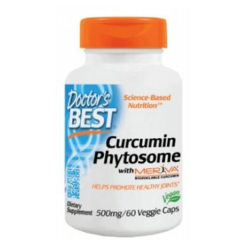 Curcumin Phytosome with Meriva 60 Vcaps by Doctors Best