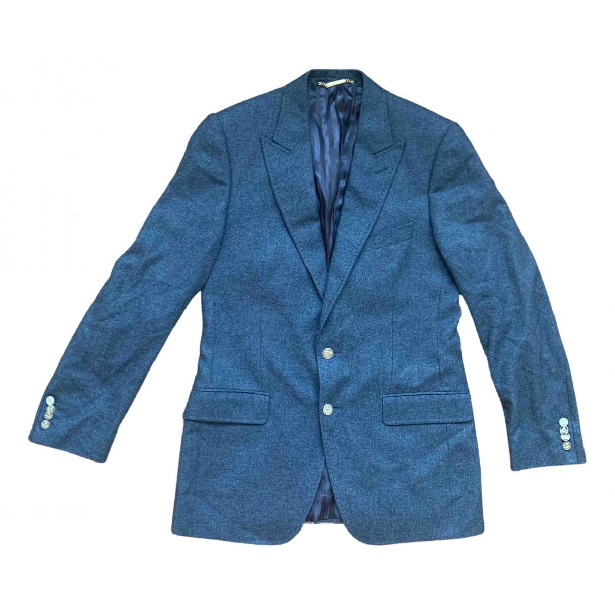 Dolce & Gabbana - Vestes.Blousons   pour homme en cachemire - gris