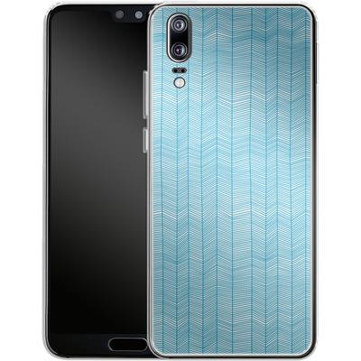 Huawei P20 Silikon Handyhuelle - Fishbone von caseable Designs