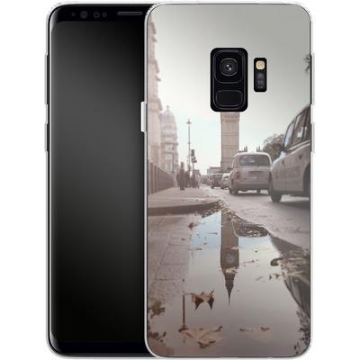 Samsung Galaxy S9 Silikon Handyhuelle - Double Ben von Ronya Galka