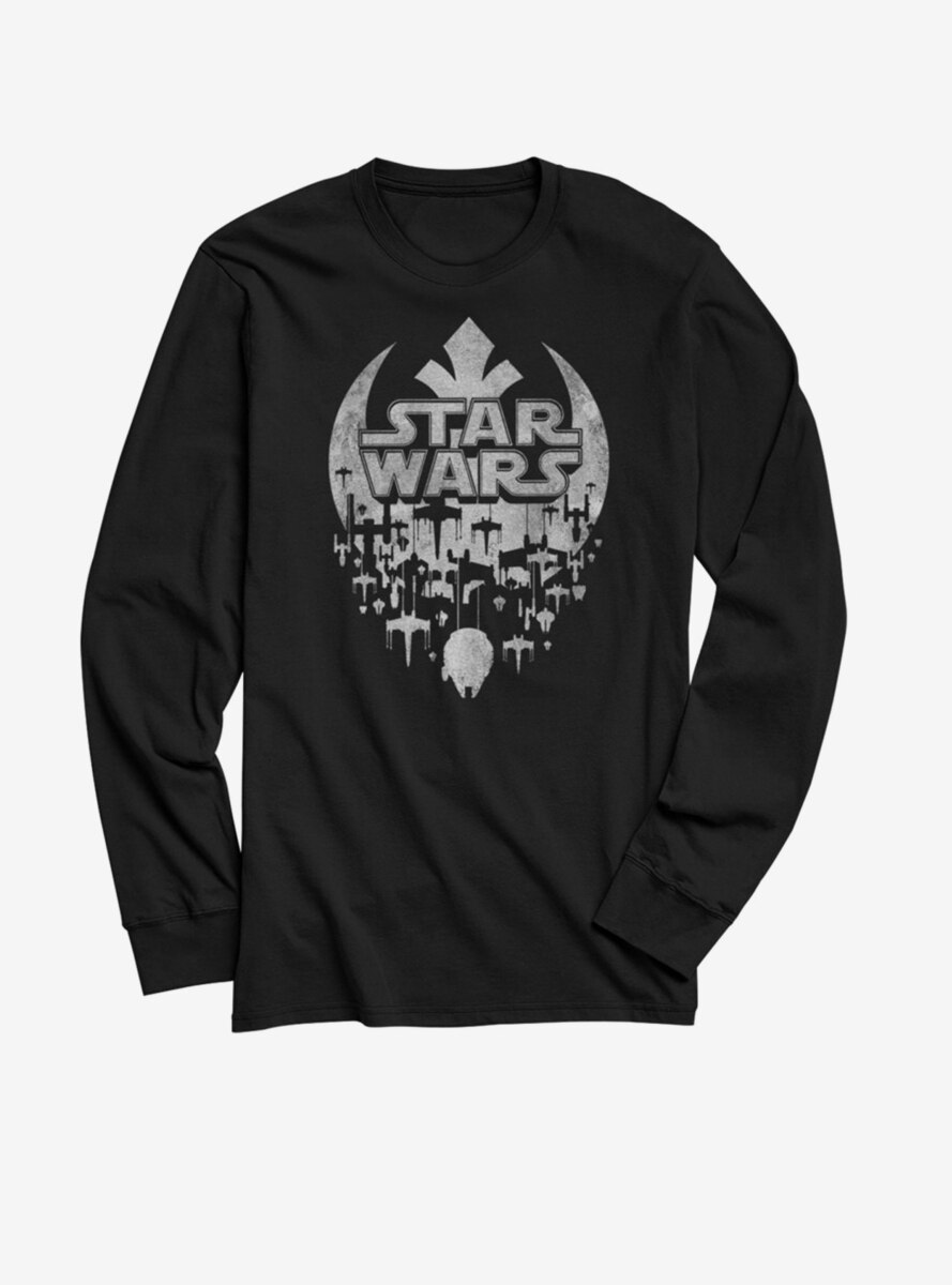 Star Wars Star Fade Long-Sleeve T-Shirt