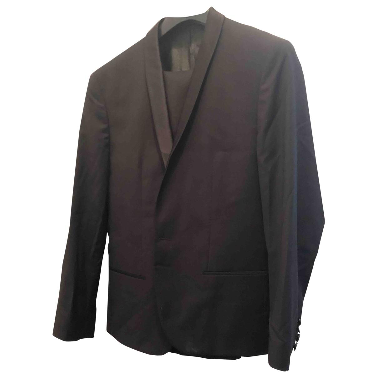 Calvin Klein \N Black Wool Suits for Men 50 IT