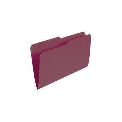 Pendaflex@ Recycled Coloured Reversible File Folders, 100 folders per box - Burgundy, Legal 486050