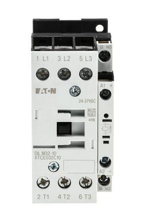 Eaton 3 Pole Contactor - 32 A, 24 V dc Coil, xStart, 3NO, 15 kW