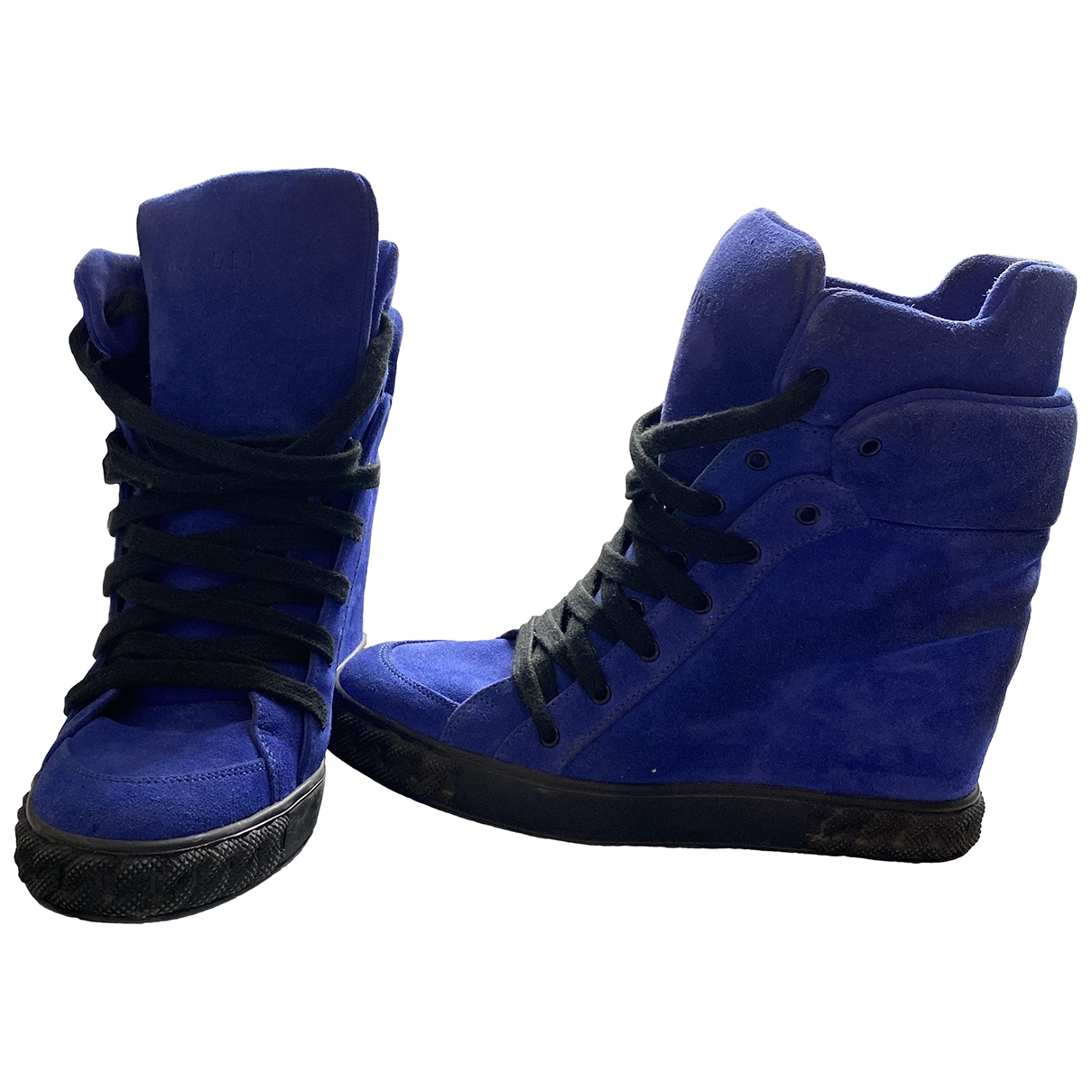 Casadei \N Patent leather Ankle boots for Women 37 EU