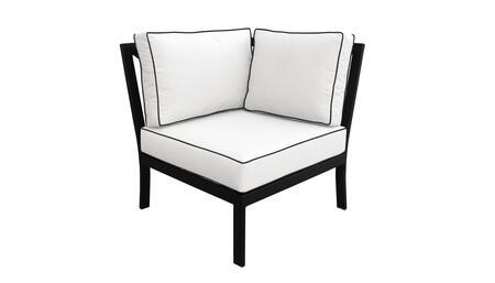 KI062b-CS Madison Ave. Corner Chair with 1 Set of Snow