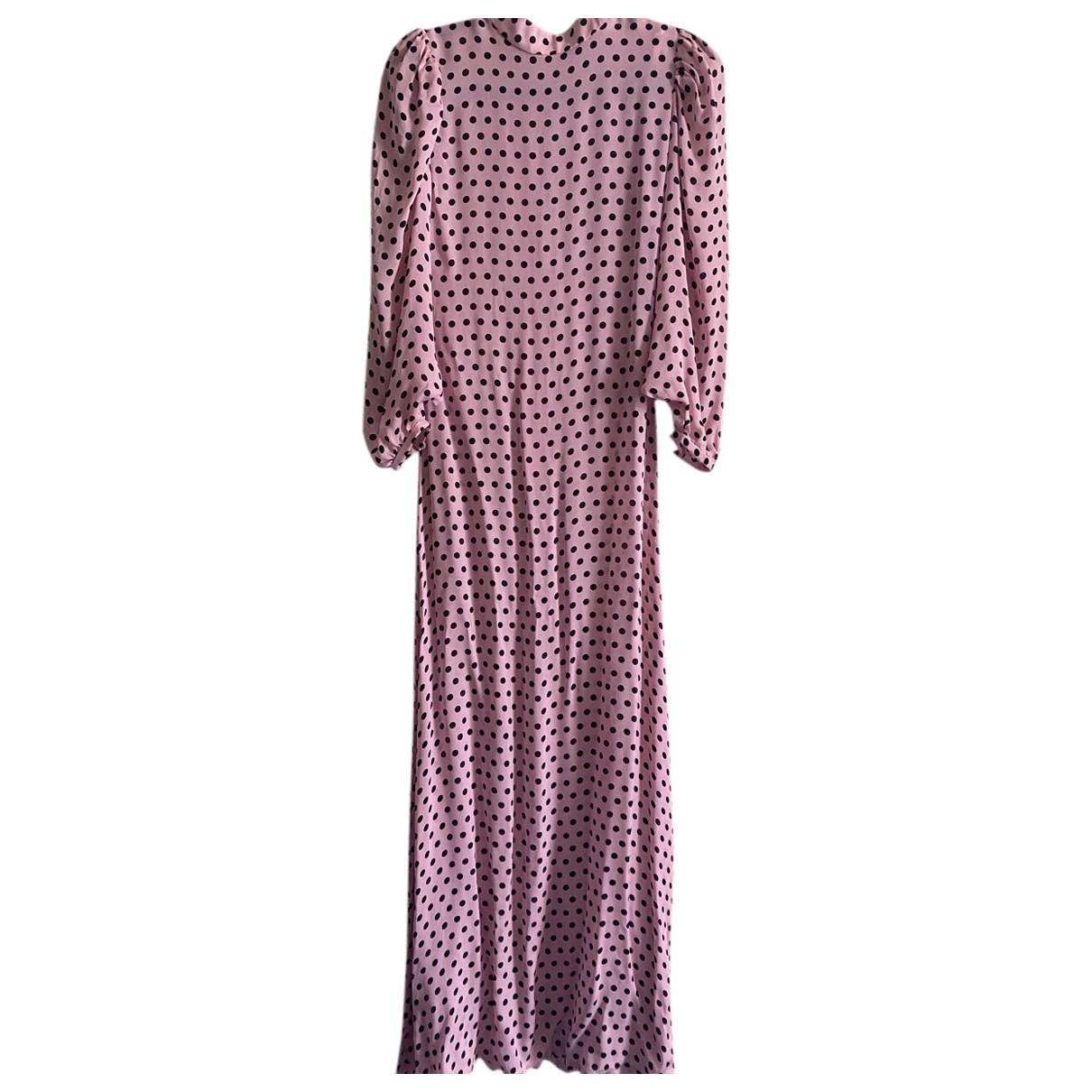 Olivia Rubin \N Kleid in  Rosa Synthetik