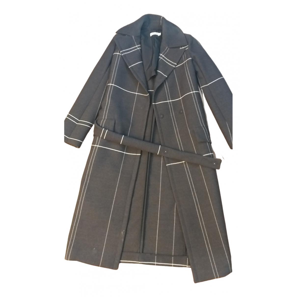 Jil Sander \N Grey Wool coat for Women 34 FR