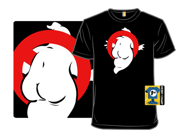 Ghostbuttsters T Shirt