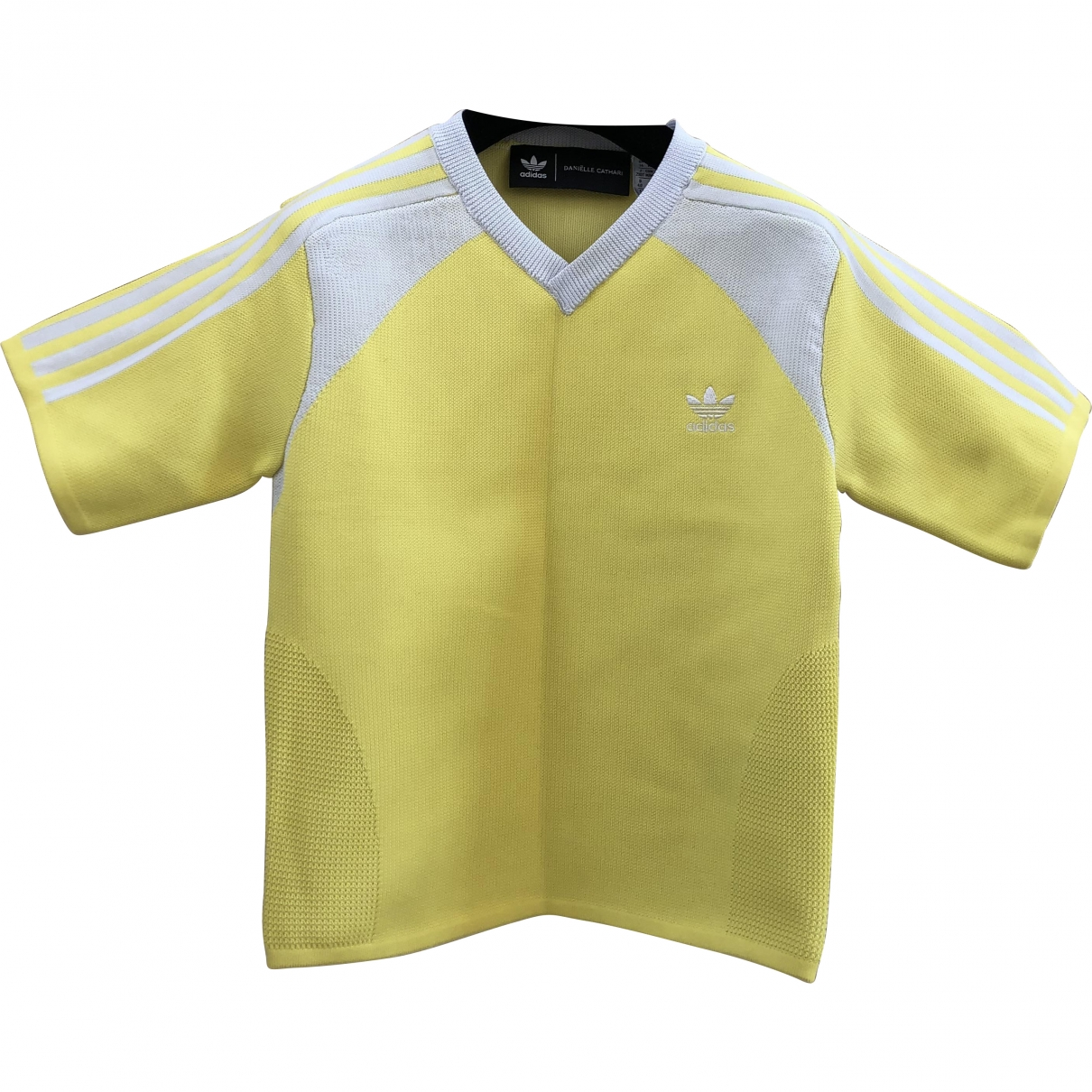Adidas \N Top in  Gelb Polyester