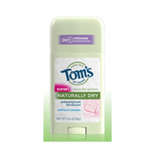 Naturally Dry Womens Antiperspirant Stick Deodorant-Natural Powder 2.25 oz by Toms Of Maine