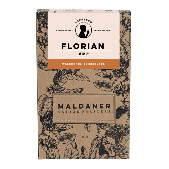 """Kaffeebohnen Maldaner Kaffeerosterei """"Florian Espresso, 250g"""