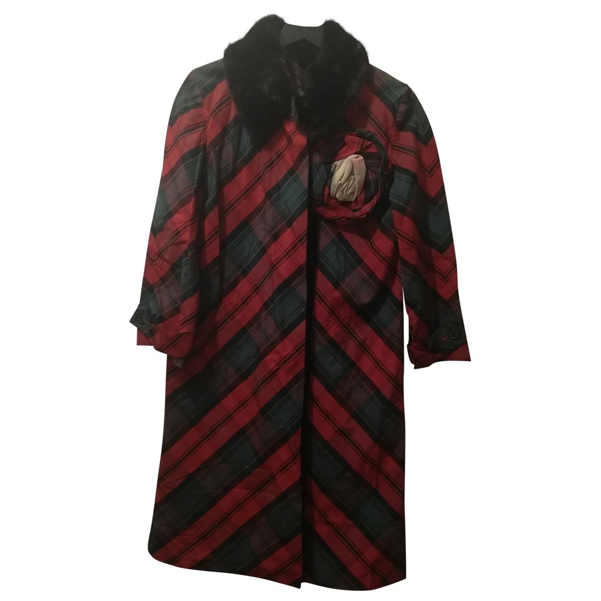 Louis Vuitton \N Red Wool coat for Women 38 FR