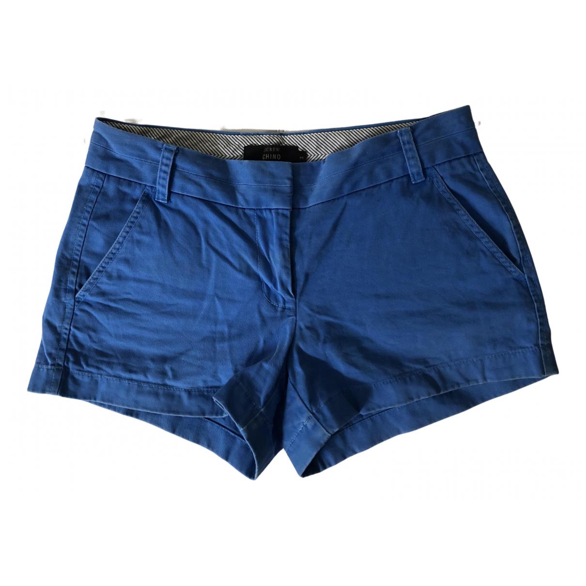 J.crew \N Shorts in  Blau Baumwolle