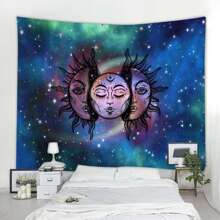 Galaxy Graphic Tapestry