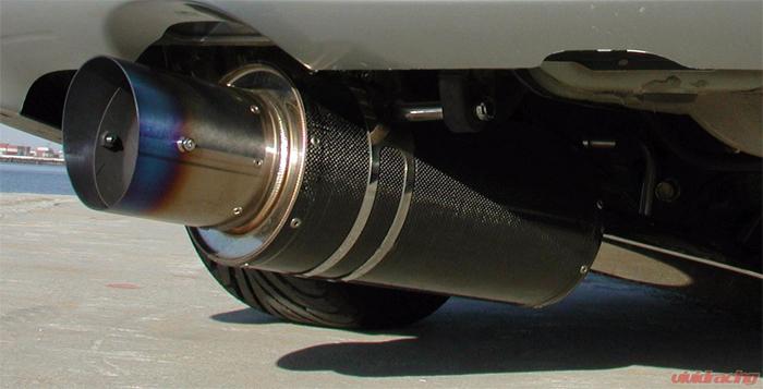 HKS 3112-EX003 Carbon Titanium Exhaust Mitsubishi Eclipse Turbo 95-99
