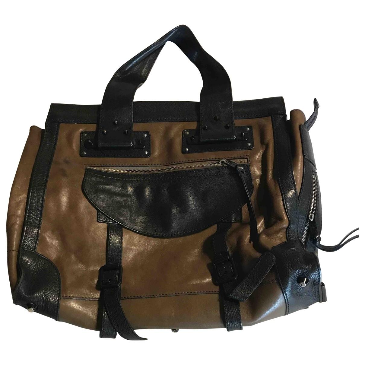 Chloé Alice Khaki Leather handbag for Women \N