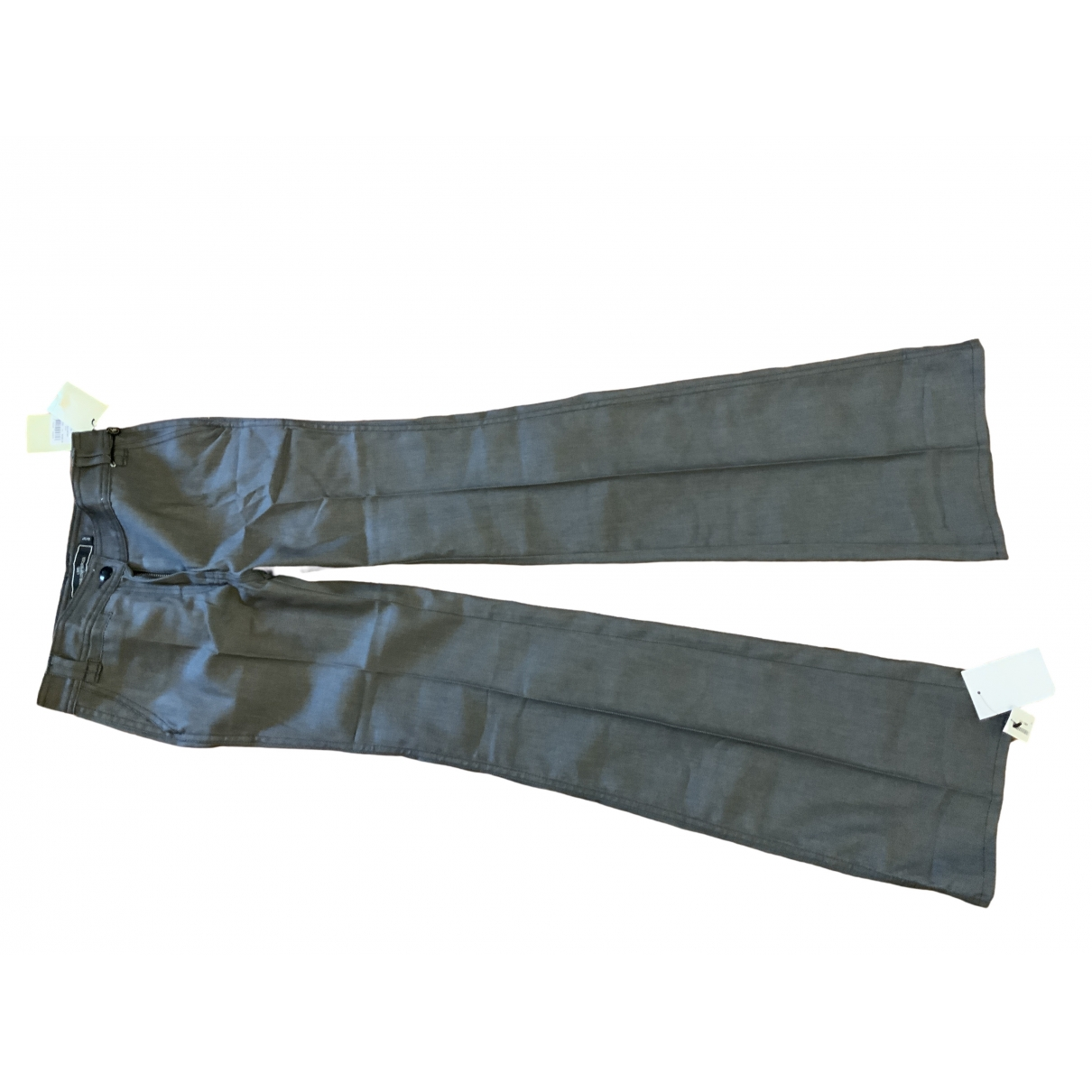 By Malene Birger \N Grey Cotton - elasthane Jeans for Women 36 FR
