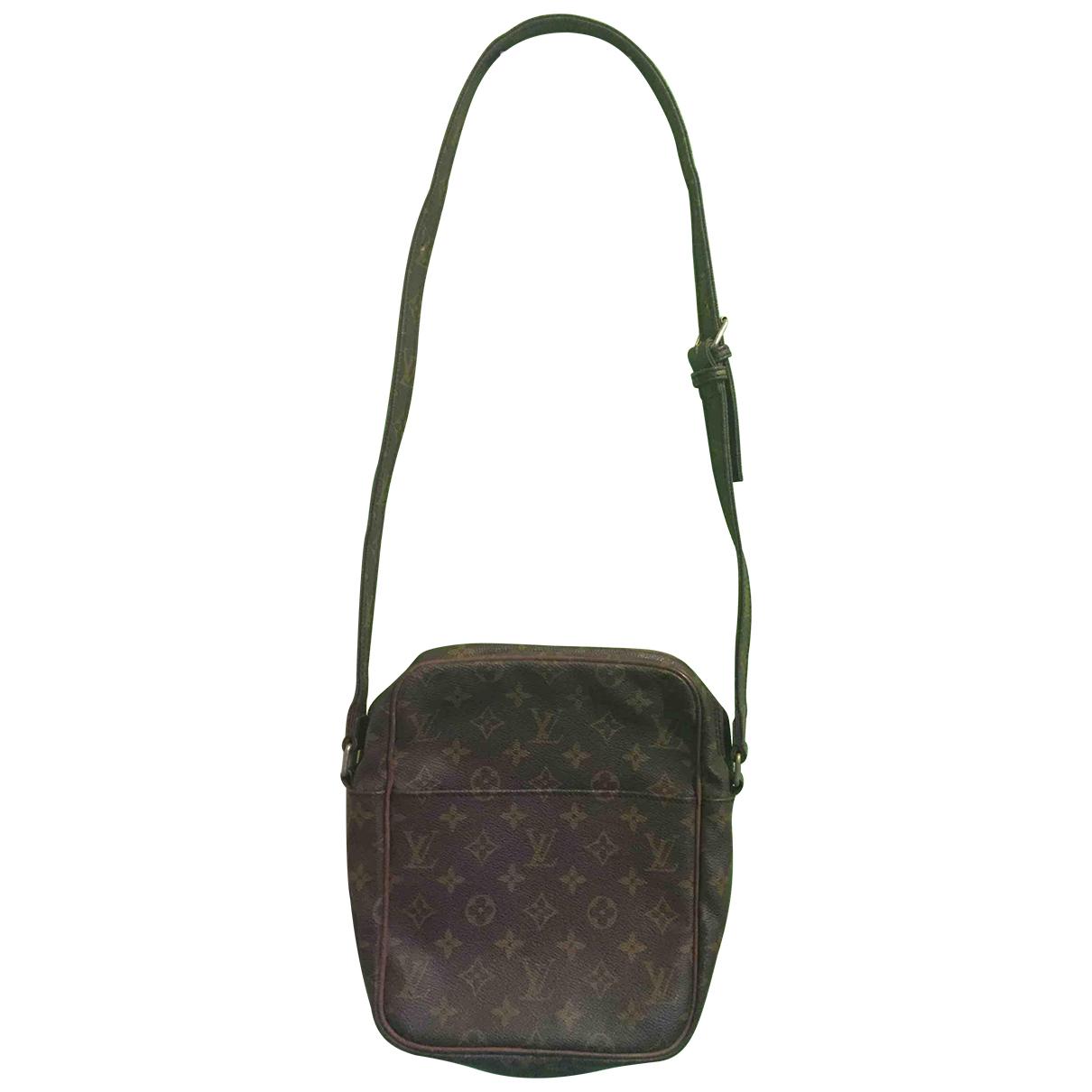 Louis Vuitton Marceau Messenger Brown Leather handbag for Women N