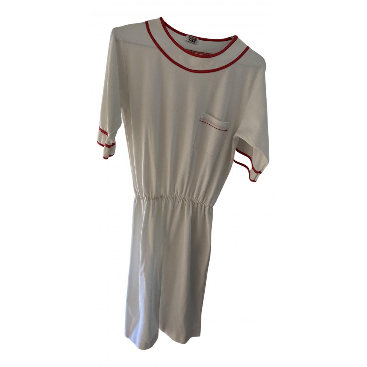 Rodier N White Cotton dress for Women 36 FR