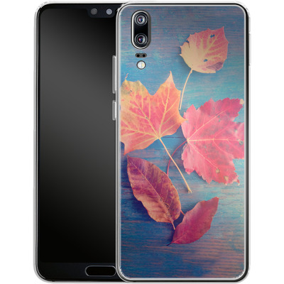 Huawei P20 Silikon Handyhuelle - The Colors Of Autumn von Joy StClaire