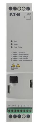 Eaton Variable Speed Starter, 1-Phase In, 60Hz Out 1.5 kW, 230 V ac, 7 A DE11