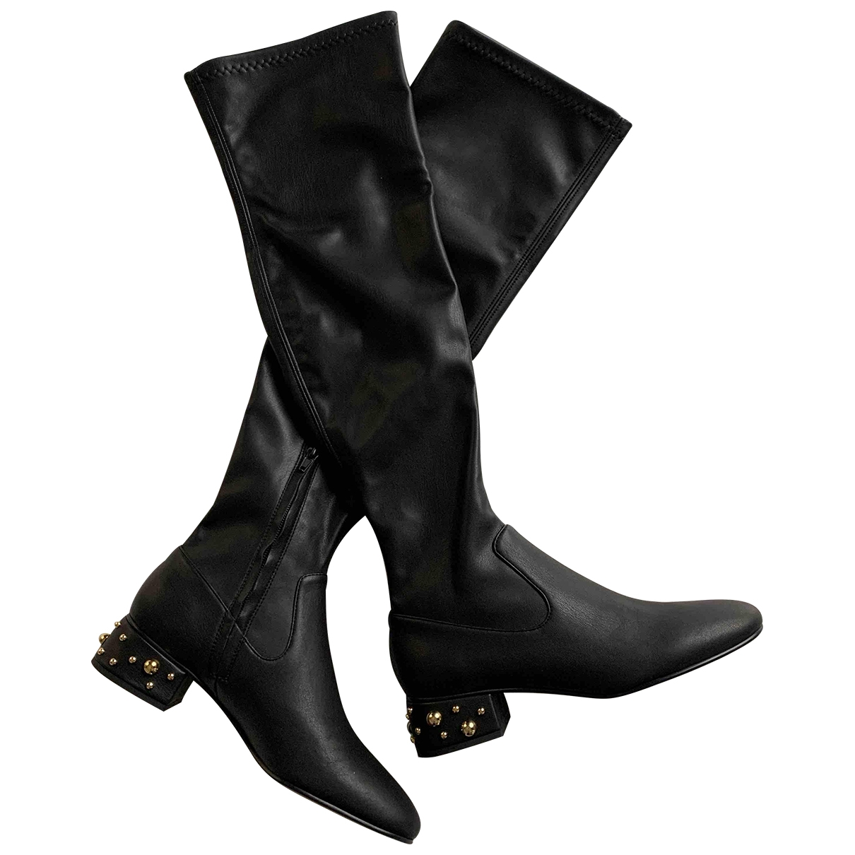See By Chloé \N Black Leather Boots for Women 38 EU
