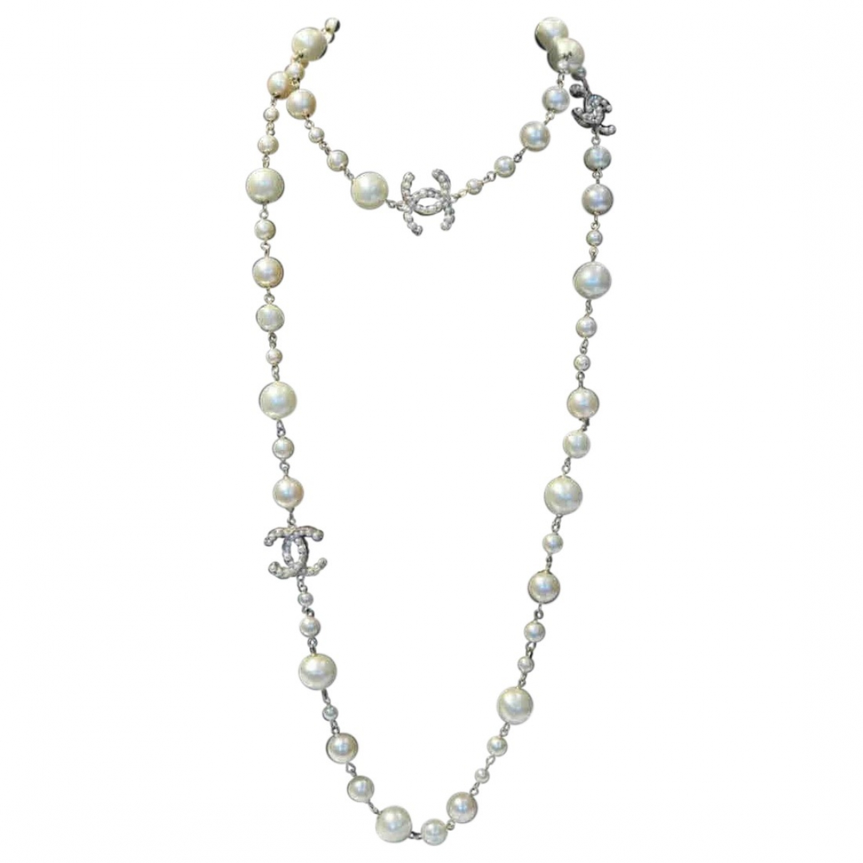 Chanel CC White Pearls necklace for Women \N