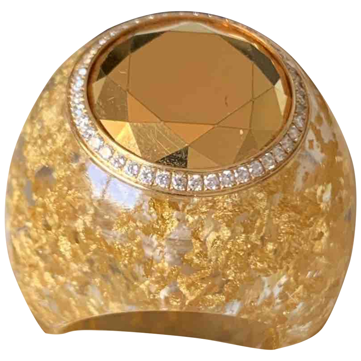 Chopard \N Ring in  Gelb Gelbgold