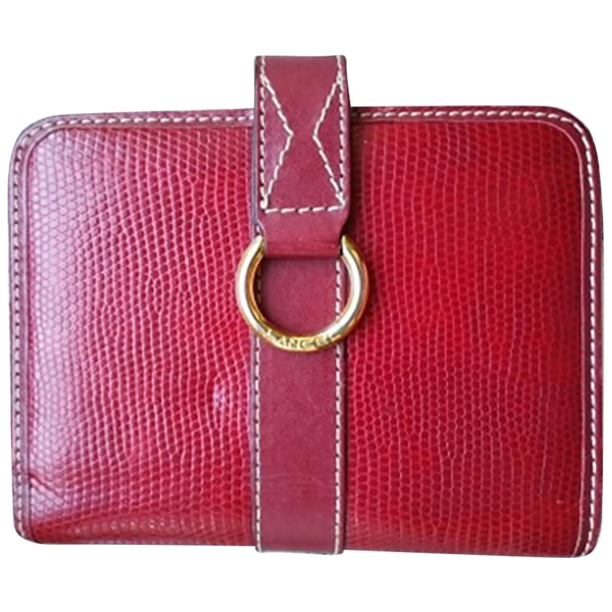 Lancel - Objets & Deco   pour lifestyle en cuir - rouge
