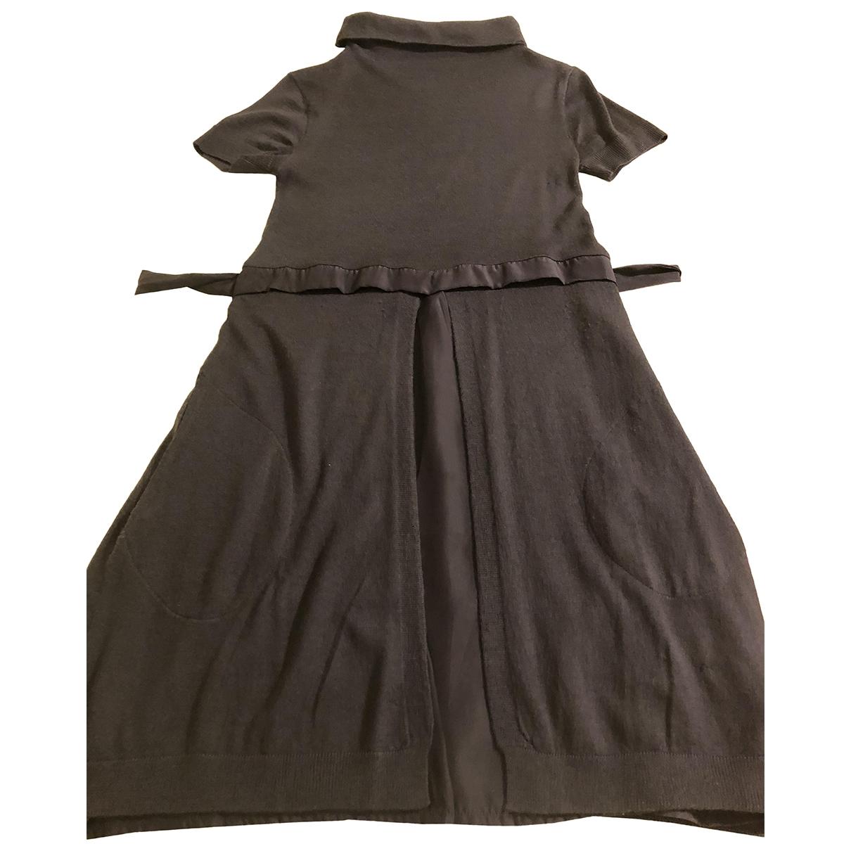 Twin Set \N Blue Wool dress for Women M International