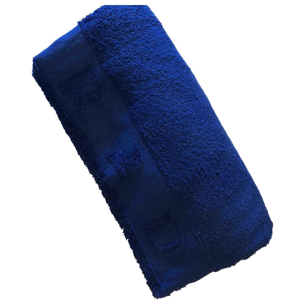 Prada - Linge de maison   pour lifestyle en coton - bleu
