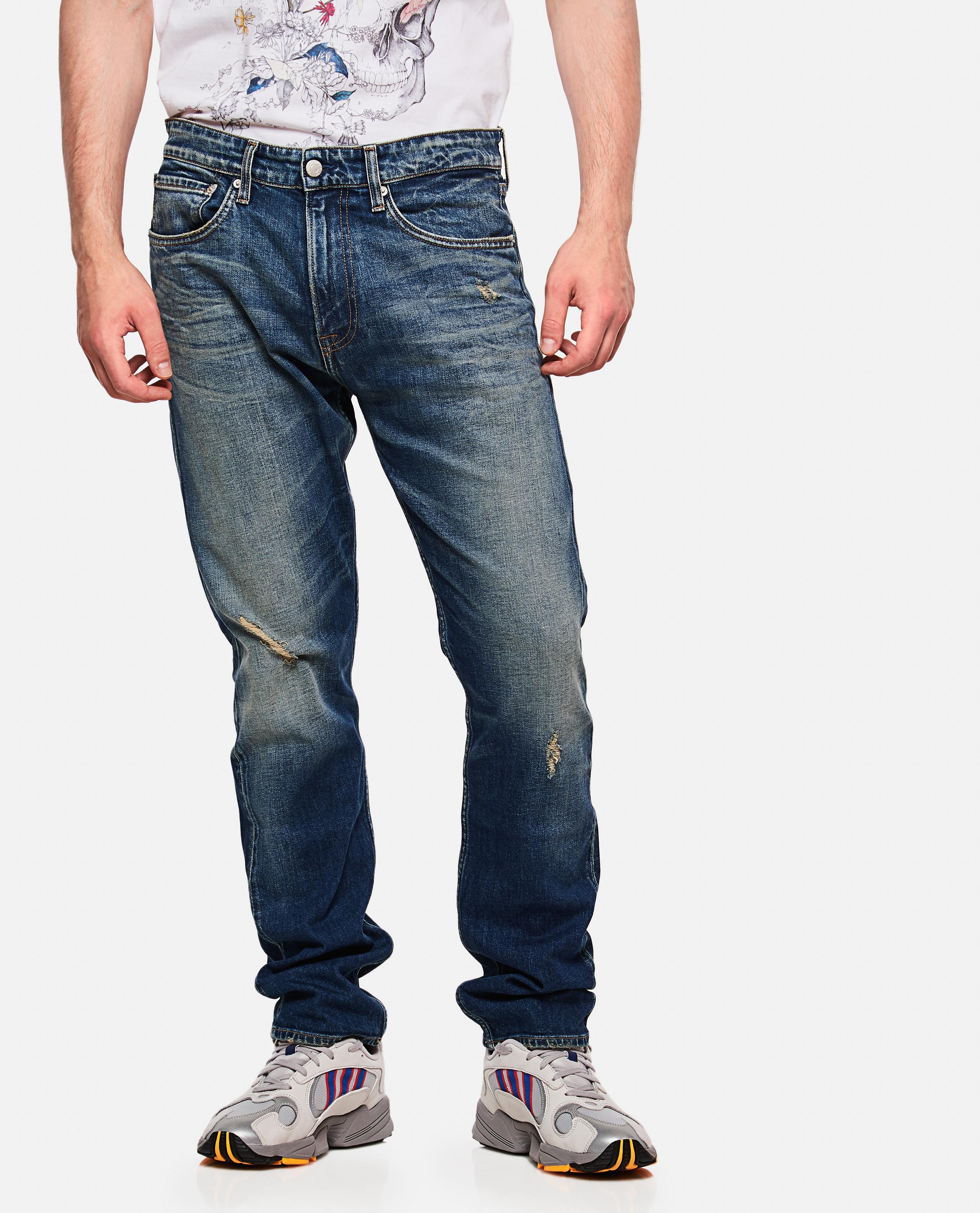 Cotton Denim Pants