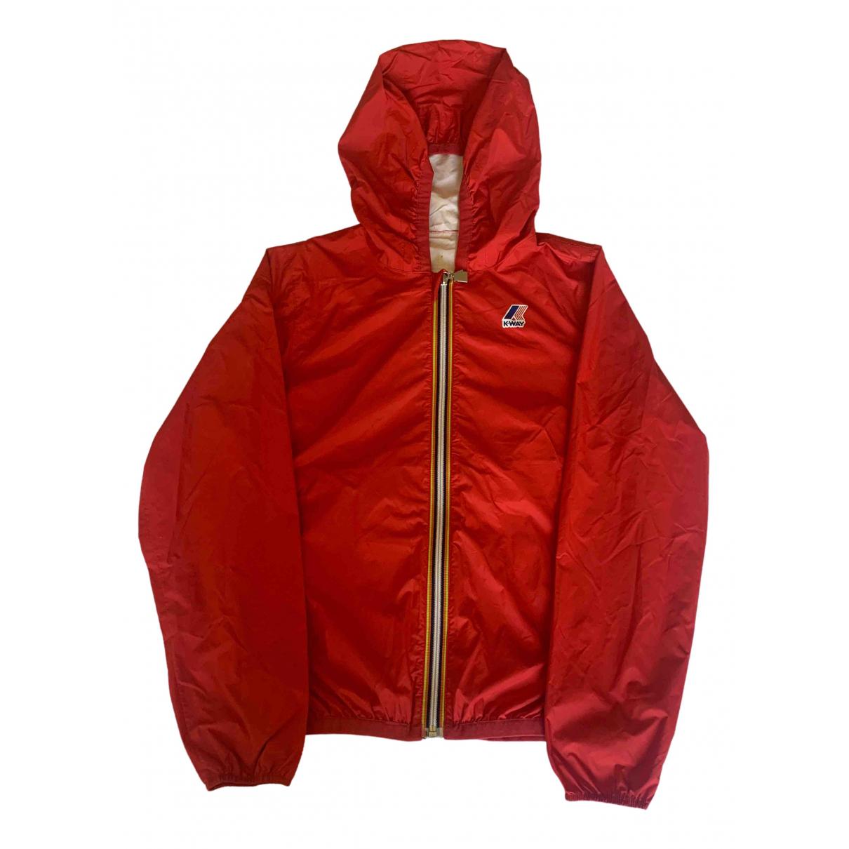 K-way - Blousons.Manteaux   pour enfant - rouge