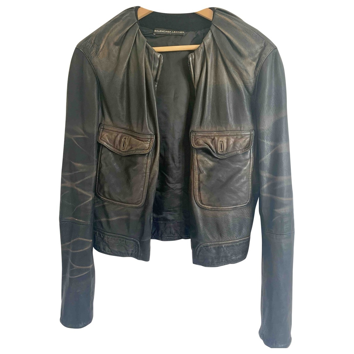 Balenciaga \N Multicolour Leather jacket for Women 38 FR