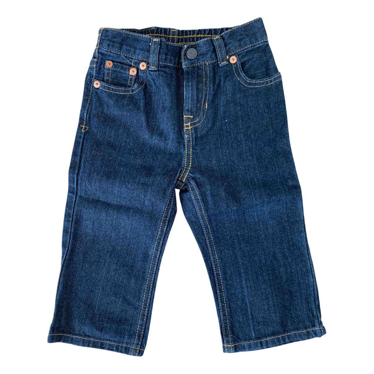 Polo Ralph Lauren \N Blue Cotton Trousers for Kids 18 months - up to 81cm FR