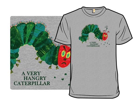 A Very Hangry Caterpillar -heather Remix T Shirt