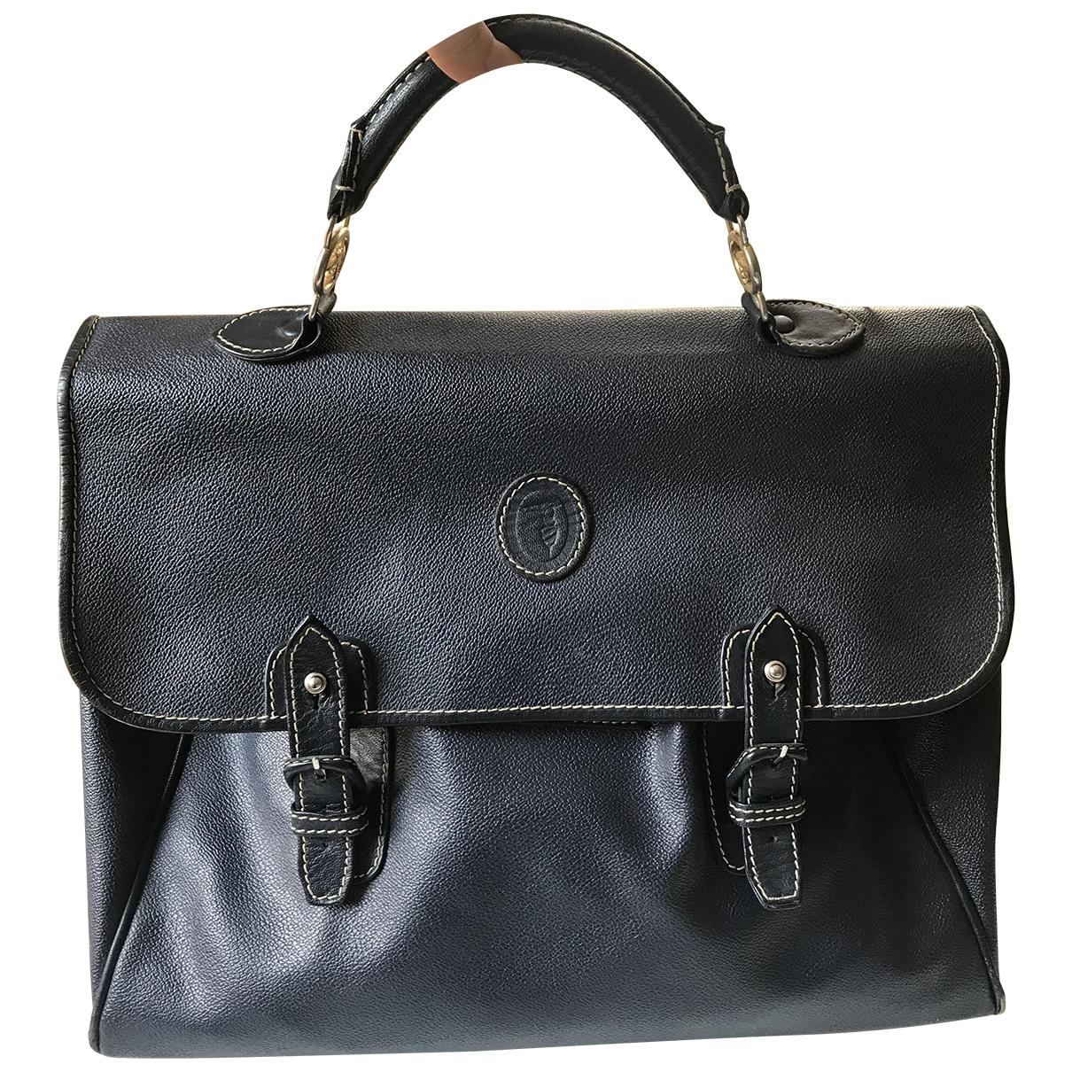Trussardi \N Blue Leather handbag for Women \N
