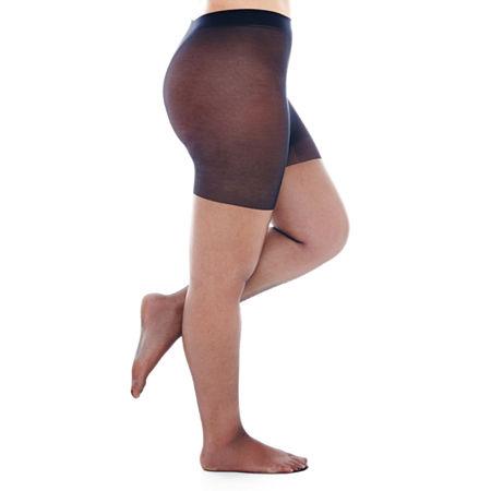 Berkshire Shimmers Control Top Pantyhose, 1 , Black